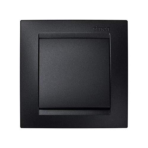 Simon Interruptor conmutador 15 Grafito, 0