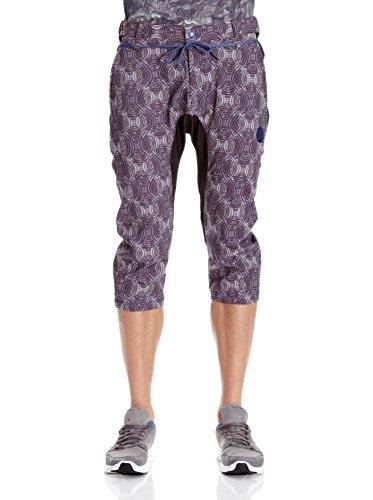 Buff Pantalon 3/6 Jaro Violet/Gris XL