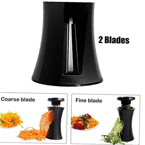Bongles Cocina Multifunción Spiralizer Vegetal Espiral Máquina De Cortar Calabacín Pasta De Fideos Espaguetis De Corte Fabricante De Accesorios Color Azar