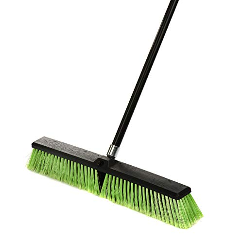 Alpine Industries Multi-Surface Push Broom (24 Inch)