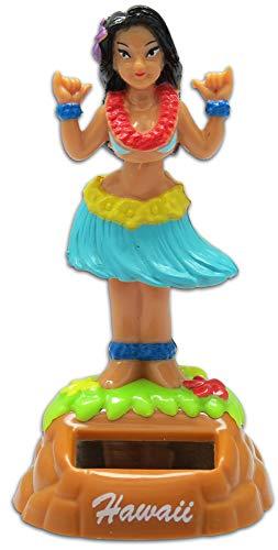 KC Hawaii Shaka Hula Girl Solar Dashboard Doll
