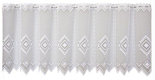 Anna Cortina 8829773–75X 150Bianco Libby Tenda, Tessuto, Bianco, 75x 150cm