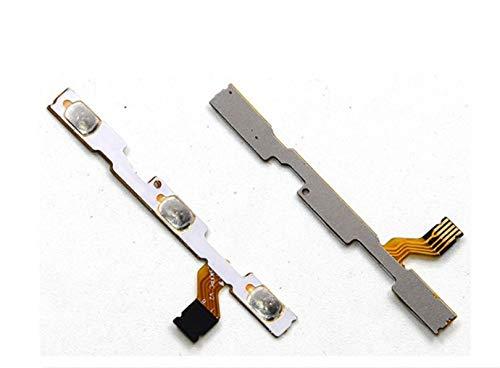 Compatible para Xiaomi MI A1 MI 5X Recambio para sustitución Flat Flex Circuito Interno Switch Key Botón Encendido Botón Power on Off Control Teclas Volumen Laterales + -