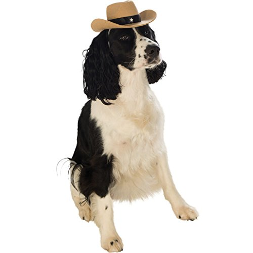 MyPartyShirt Cowboy HatPet Cowboy Hat Dog Costume Brown Sheriff Western Halloween Puppy Cat Cowgirl  - http://coolthings.us
