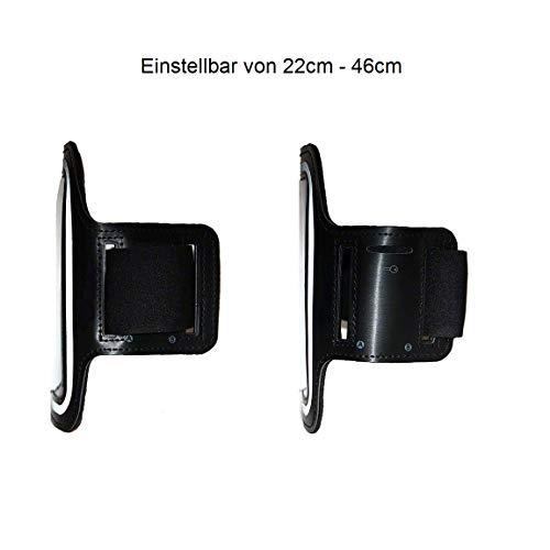 CoverKingz Armtasche für Huawei Mate 10 Lite Sportarmband mit Schlüsselfach, Laufarmband, Sport Handyhülle, Handy Armband Schwarz - 6