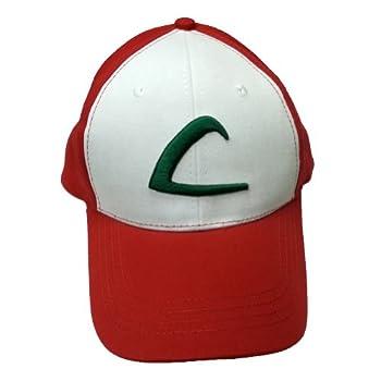 Qualité Ash Ketchum Adulte Baseball Cap d'origine Hat Costume Pokemon formateur