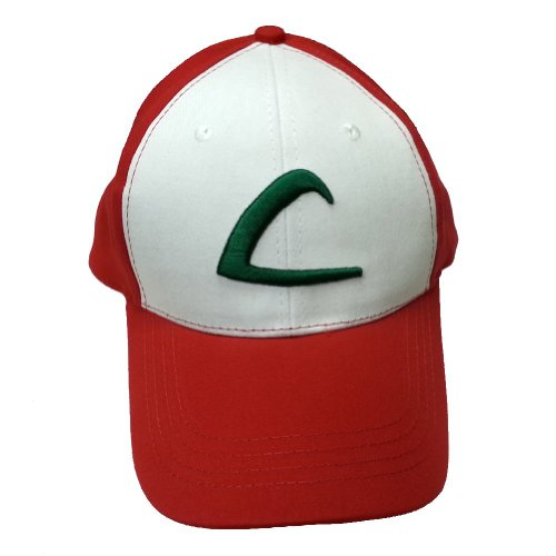 Qualité Ash Ketchum Adulte Baseball Cap d'origine Hat Costume Pokemon formateur