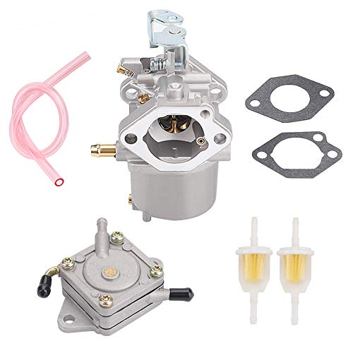 Tvent FE350 Carburetor 101905901 Replacement for Club Car Golf Cart Precedent Turf Carryall 1996-UP Carb 1016441-01 1018059-01 1019059-01 1035245-01 1016438 1016439 1016440 1016441 with Fuel Pump