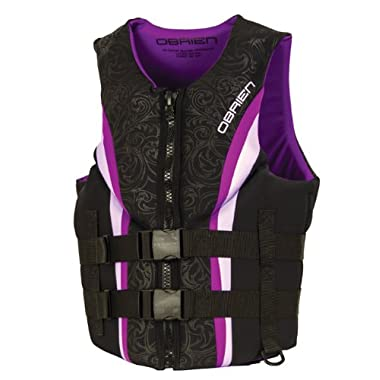 O'Brien Women's Impulse Neo Life Vest, Purple, Large