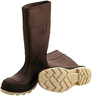 Tingley Rubber 51144 15-Inch Cleated Knee Boot, Size 12, Brown