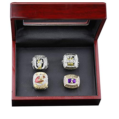 YANGLIXIA Championship Anillos James Lakers Baloncesto 2012 2013 2016 2020 World Vintage Champion Rings Collection Hombres 11#