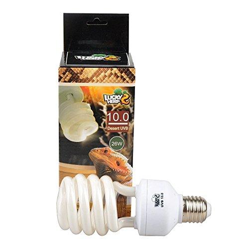 Lampadina 10.0 UVA, UVB compatta e fluorescente per rettilari, da 13 W
