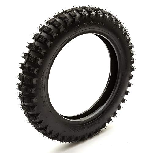 Neumático 2.50-10 Delantero Trasero Pitbike Moto Cross Protuberante Todoterreno Neumático 10'' para 10 Inch Moto de Cross Rueda