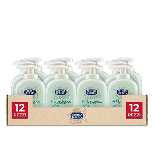 Neutro Roberts Sapone Liquido Antibatterico 300 ml, 12 Pezzi