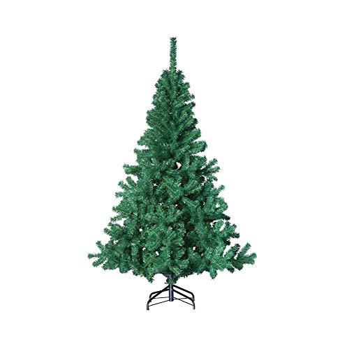FEERIC CHRISTMAS Albero di Natale Artificiale Verde - Altezza 1,80 m - 650 Rami - Base in Metallo - Ottima qualità