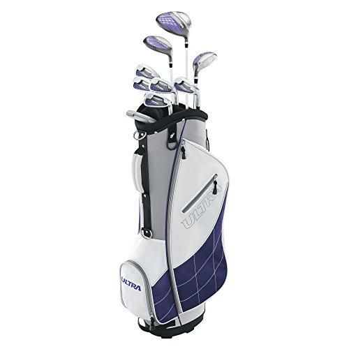 Wilson Golf Women s Ultra Package Set, Right Hand, White