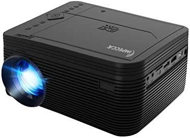 Impecca VP 220K LED Home Theater Projector with Built in DVD Player Black Projecting Spectacle product image