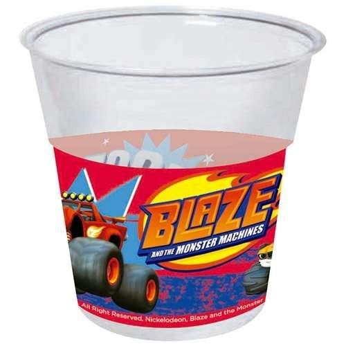 8 vasos desechables 20cl para fiesta de Blaze
