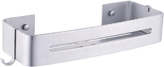 Ganghuo Punch-Free Aluminium Toilet Opbergrek/Badkamer Opbergrek/Hoekrek voor Thuis Badkamer Opslag Accessoires