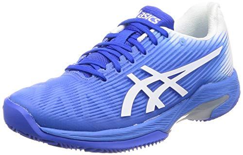 ASICS Damen Solution Speed Ff Clay Tennisschuhe, Blau Weiß, 40 EU