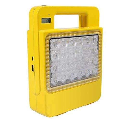 BANANAJOY Tienda Portable de Mano Solar linternas LED USB lámpara Que acampa Tienda de campaña de la Linterna Recargable de la batería Luz 30W