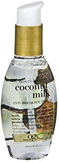 Ogx Coconut Milk Serum Anti-Breakage 4 Ounce (118ml) (2 Pack)