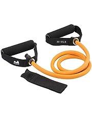 REEHUT Bandas Elásticas de Entrenamiento, Bandas de Resistencia para Fitness Cable de Ejercicio de Entrenamiento para Tonificación Muscular, Equipo de Ejercicio de Estiramientos para Yoga