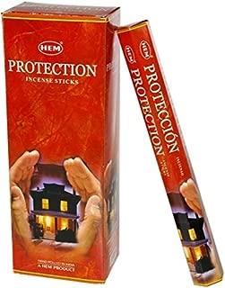 1 X Protection - Box of Six 20 Stick Tubes - HEM Incense
