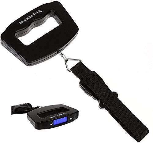 FFAN kg Báscula Digital para Maletas con asa Grande y Vendaje WH-09
