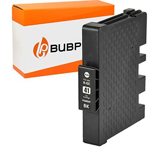 Bubprint Druckerpatrone kompatibel für Ricoh GC-41 GC-41K für Aficio SG2100N SG3100SNw SG3110DN SG3110DNw SG3110SFNw SG3120 SG7100DN SG-K3100DN Schwarz