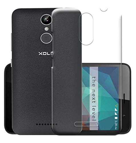 Coverito TPU for Xolo Era 2X Transparent Back Cover
