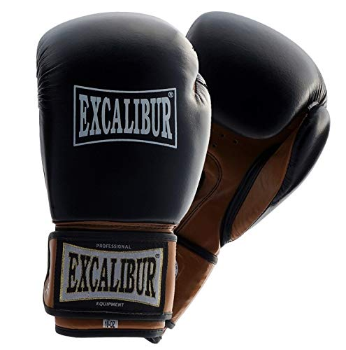 Boxhandschuh Excalibur Club PRO 12, 14 Unzen - Echtes Rindsleder (12 Oz)