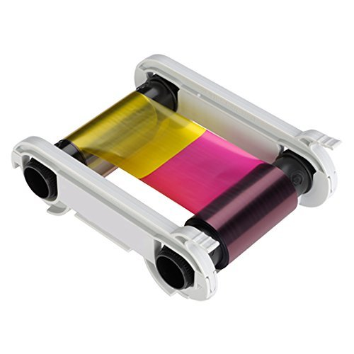 ID Card Printer Ribbon, 5 Panel, 300 DPI