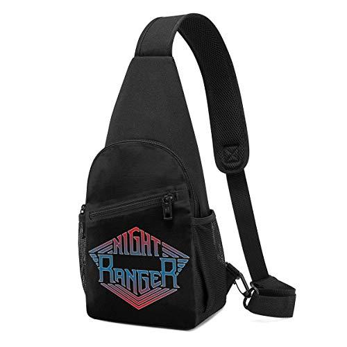 Night Ranger Sling Bag Chest Bag Shoulder Backpack Cross Body Lightweight Packable Durable Travel Hiking Daypack