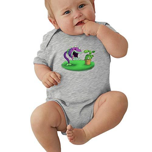 Barbara J Griffin - Body de manga corta para bebé con diseño de monstruos cantantes Gris gris 6 Meses