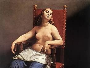 Guido Cagnacci The Death of Cleopatra c. 1660 32x24 [Kitchen]