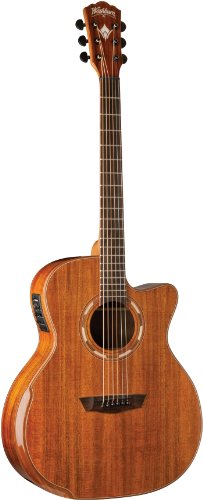 Washburn Comfort Series WCG55CE Acoustic Guitar,...