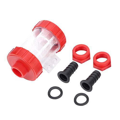 Slijtvaste Clear Pomp Zeef Pomp Filter Corrosiebestendig voor Tuin Irrigatie Interface Pijp voor Waterpomp Filter (3/4 inch)