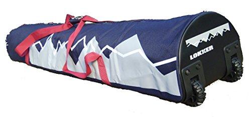 Lokker Ski- und Snowboard Tasche mit Rädern