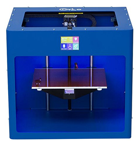 Craft Unique cu3dp-CBP BL craftbot Plus Stampante 3d, PLA/ABS, RAL 5010, Blu genziana