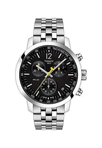 Tissot Herren-Armbanduhr PRC 200 Chronograph Schwarz T114.417.11.057.00