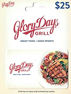 glory days gift card