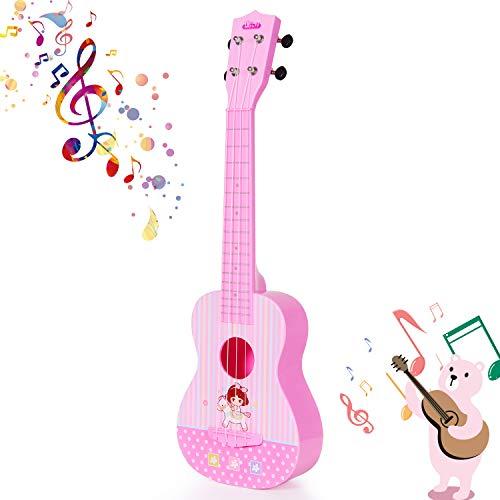 Ukulele Guitar Toy, 4 Strings Musical...