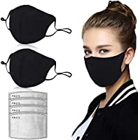 50 Pcs Disposable Face Mask, 3-Ply Breathable & Comfortable Filter Safety Mask, Anti Dust Breathable Disposable Earloop...
