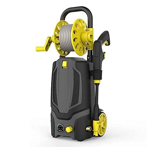 H.Slay Lavadora a presión portátil de Alta presión para Coche eléctrico multifunción, para el hogar/Coche/Entrada/Muebles de Patio