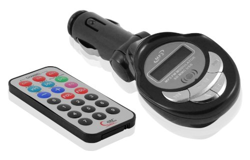 DP Audio Video USB SD/MMC MP3 Wireless In Car FM Transmitter with Remote (Black)