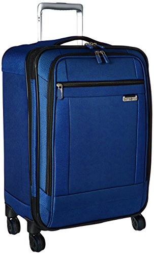 Samsonite Solyte Softside Expandable Luggage with Spinner Wheels, True Blue, Carry-On 20-Inch
