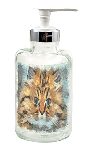 Fat Cat Soap/Lotion Dispenser from Doggylips