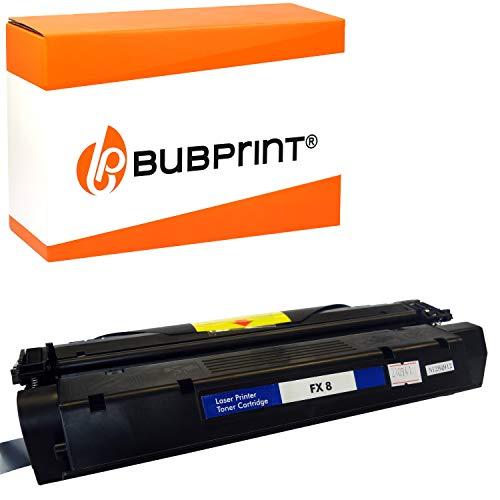 Bubprint Toner kompatibel für Canon FX8 FX-8 8955A001 für Fax L380 L380S L390 L400 Laser Class 510 PC-D320 PC-D340 3.500 Seiten Schwarz/Black