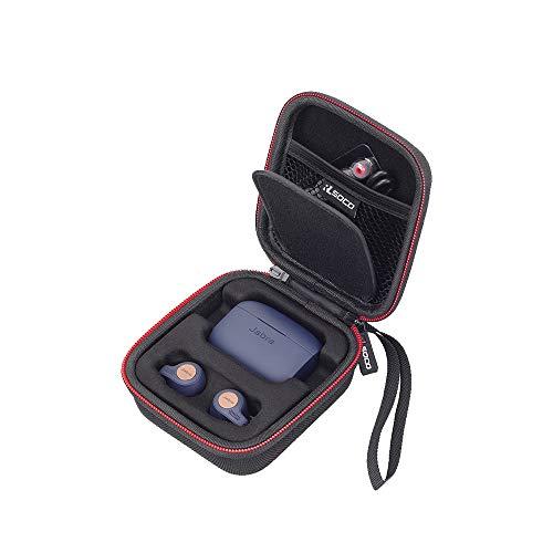 RLSOCO Étuipour Jabra Elite 75 /Jabra Elite Active 75t / Jabra Elite Active 65t / Jabra Elite 65t Écouteurs Bluetooth 5.0 True Wireless Sport avec Le Service Vocal